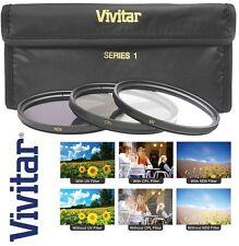 3-Pc UV Polarizer & ND8 Filter Kit For Olympus E-PL2 E-PL3 E-P1 E-P2