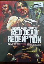Red Dead Redemption Game of the Year Limited Edition by BradyGames Hardcover NEW