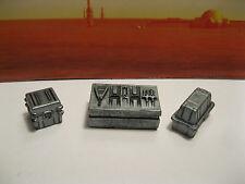Star Wars G.I. Joe Custom Cast Diorama Parts 3.75 Scale Figures Crates Set of 3