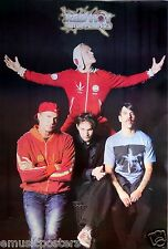 """RED HOT CHILI PEPPERS """"GROUP SHOT, FLEA'S ARMS OPENED WIDE"""" POSTER FROM ASIA"""