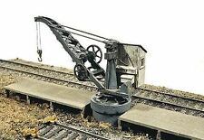 JL INNOVATIVE DESIGN HO SCALE INDUSTRIAL PILLAR CRANE & DOCK KIT | BN | 391