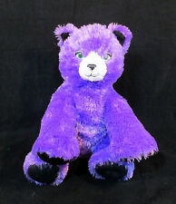 "12"" Build a Bear Workshop Plush Metallic & Purple Halloween Kitty Cat Stuffed 3+"
