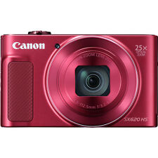 Canon PowerShot SX620 HS with 8gb Card & Case (RED) (SMP2)