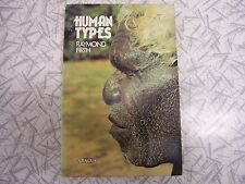 Human Types by Raymond Firth 1975 Classic of Social Anthropology