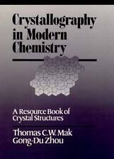 Crystallography in Modern Chemistry: A Resource Book of Crystal Structures