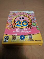 Kirby's Dream Collection 20th Anniversary Special Edition Wii Game (check pics)
