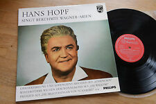 WAGNER HANS HOPF sings famous Arias LP Philips G 03 185 L