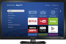 "Open-Box: Insignia- 24"" Class (23.6"" Diag.) - LED -720p - Smart - Roku TV -..."