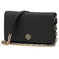 [BKPs] Tory Burch Robinson Chain Wallet - New with Tags Genuine Black