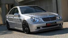 FRONT SPLITTER (TEXTURED) FOR MERCEDES C-CLASS W203 (STANDARD BUMPER)
