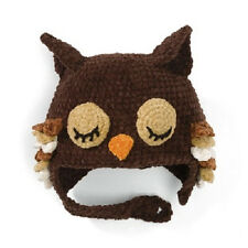 San Diego Hat Co. OWL HAT Bonnet Beanie 1-2 yrs 12-24 mos baby boy girl  gift