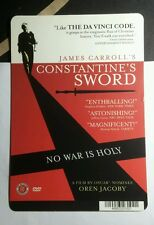 CONSTANTINE'S SWORD JAMES CARROLL MINI POSTER BACKER CARD (NOT a dvd movie )