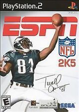 ESPN NFL 2K5 (Sony PlayStation 2 PS2) Box & Instructions Only NO GAME