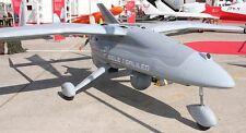 Selex ES Falco Tactical Unmanned Aerial UAV Aircraft Desktop Wood Model Small