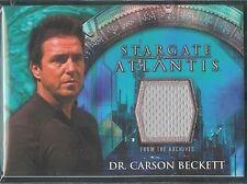 Stargate Atlantis 3&4 Costume Card Carson Beckett 3 v2