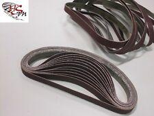 48 Gewebe-Schleifbänder 13 x 457 mm für Black & Decker Powerfeile / Schleifband