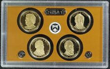 2011 S Presidential Dollar Proof Set 4 Coins US Mint (No Box or COA)