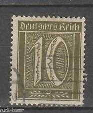 Deutsches Reich Nr.   159  gest.  Ziffer im Rechteck   -30