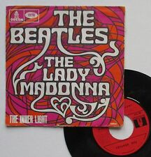 "Vinyle 45T The Beatles ""Lady Madonna"""