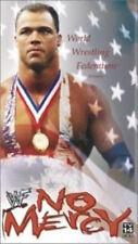 WWE No Mercy 2001 VHS Video SEALED Stone Cold Steve Austin Kurt Angle Rock WWF