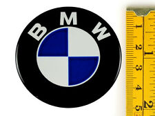 "BMW ★4 x NEW★ Emblems 50mm (2"") WHEEL CENTER CAP STICKERS 3D DECALS"