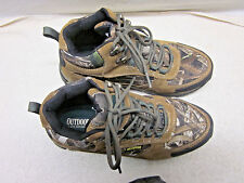 "OUTDOOR LIFE "" Marquette"" Mens Size 8.5 camo, waterproof hiking boots"