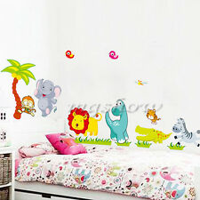 Jungle Animal Removable Wall Stickers Decal Art DIY Home Decor Kids Nursery Room