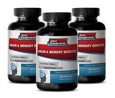 Brain Supplement - Brain & Memory Booster 777mg - Quickly Increase Focus 3B