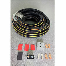 CAMPER TRAILER CARAVAN CHARGING KIT 50AMP ANDERSON PLUG 6M 6B&S CABLE 135A rated