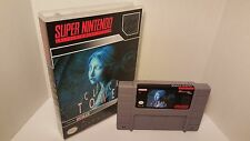 Clock Tower / Clocktower - English SNES Super Nintendo Media Case NTSC