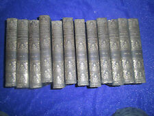 THE LIBRARY OF HISTORIC CHARACTERS & FAMOUS EVENTS-1913 J B MILLET CO-ALL NATION