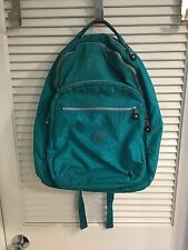 Kipling Seoul Turquoise Backpack with Laptop Protection