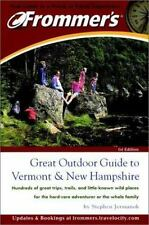 Frommer's Great Outdoor Guide to Vermont & New Hampshire-ExLibrary