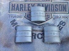 Harley Kupplungs u. Bremspedal Gummis Big Twin für WL WLC WLA WLD UL X