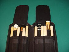 VERY NICE 4X8 BLACK CUE CASE SAVE $$ pool billiards CARLSCUES B25-3550