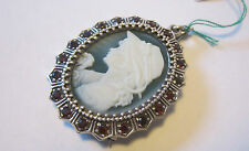Maxi cameo in argento Maxi Cameo sterling silver brooch or pendant.