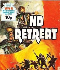A Fleetway War Picture Library Pocket Comic Book Magazine #1214 NO RETREAT