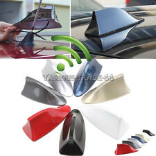 Universal Car Auto SUV Roof Radio AM/FM Shark Fin Signal Aerial Antenna Decal