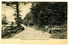 Stafford Springs Conn CT - ROAD IN GLENVILLE - Postcard