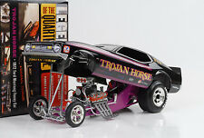 1972 FORD MUSTANG Trojan Horse Q-Mile DRAGSTER FUNNY CAR 1:18 AUTO World ERTL