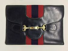 Authentic GUCCI Vintage Bifold Leather Wallet RARE e610105