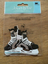EK SUCCESS JOLEE'S BOUTIQUE ICE HOCKEY SKATES EMBELLISHMENTS BNIP
