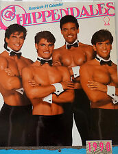 VINTAGE Chippendales Calendar 1990 VERY RARE (COLLECTORS ITEM)