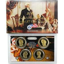 2010 S Presidential Dollar Proof 4 Coin Set United States Mint