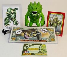 Rare Creature From The Black Lagoon RAK Art Card + Stretch Screamer Figure +++