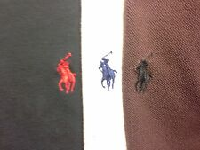 Mens Lot of 3 Polo by Ralph Lauren S/S Polo/Golf Shirt Size Medium (M)