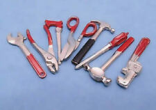 Set of Dolls House Tools, Doll House Miniatures, 1.12th Scale