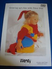 Peter Pan Wendy Children's Sweater & Pants Knitting Pattern P562