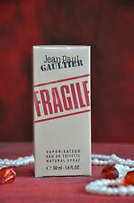 Jean Paul Gaultier Fragile EDT  50 ml., Discontinued, Rare, New in Box, Sealed