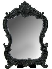 MIRROR FANCY VANITY MIRROR ORNATE BAROQUE FANCY STYLE MIRROR FRAME MODERN!!